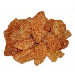 Appel chunks with cinnamon