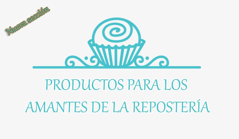 Productos de repostería creativa y pastelería online