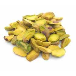 Shelled half pistachios