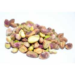 Raw shelled pistachios