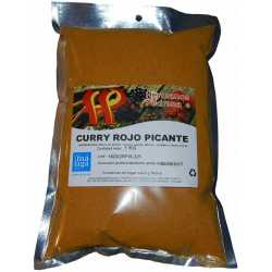 Curry rojo picante