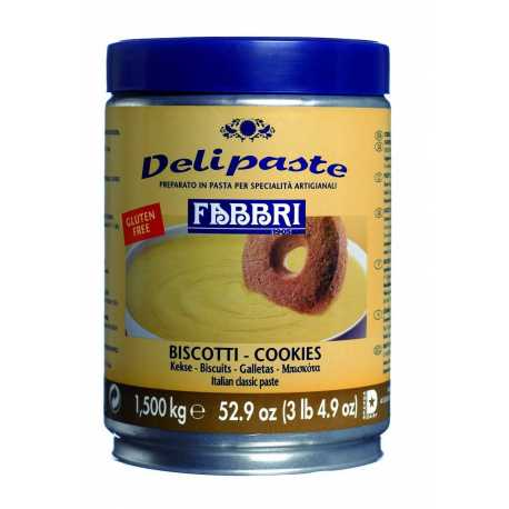 DELIPASTE GALLETA COOKIES LATA1.5KG